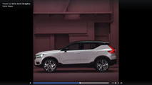 2018 Volvo XC40 screenshot from teaser video