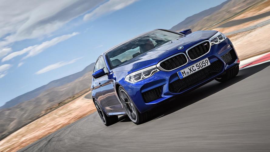 Közel a falhoz az új BMW M5 Daytonában (videó)
