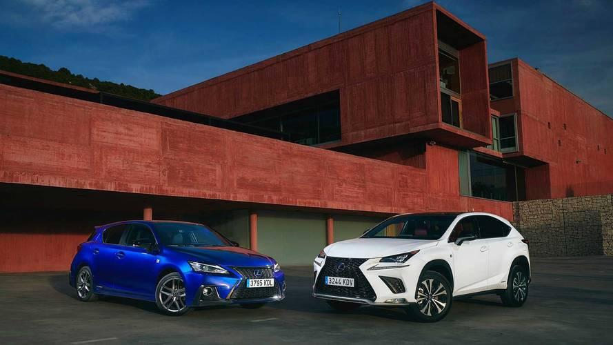 Así son los nuevos Lexus CT 200h y NX 300h 2018