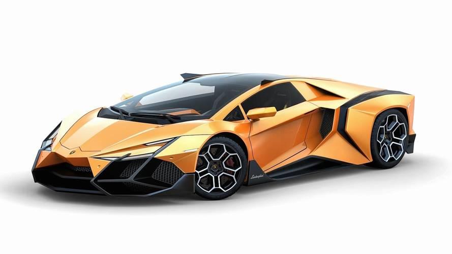 Lamborghini Forsennato: demasiado atrevido... hasta para ser un render