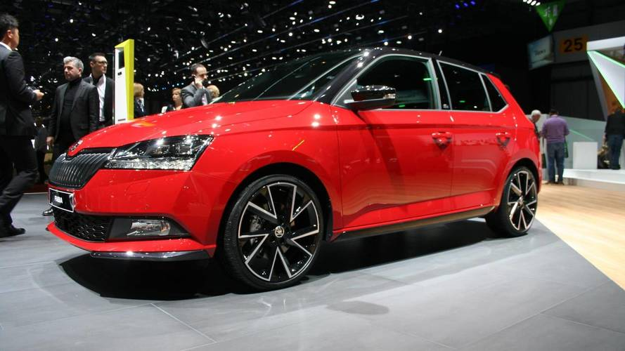 Facelifted Fabia has made its Geneva debut