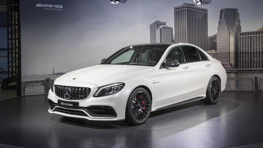 Mercedes-AMG C63 Lineup Brings New Grille, More Gears To New York
