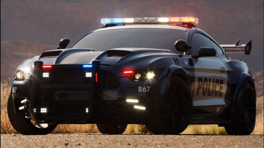 Ford Mustang Barricade, la speciale per Transformers 5