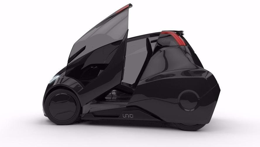 Uniti üç tekerlekli elektrikli otomobil için 730 bin dolar topladı