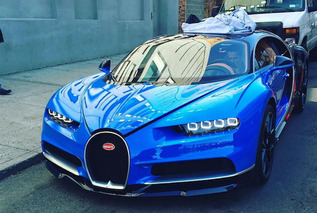 The Bugatti Chiron Hits The Streets Of New York City