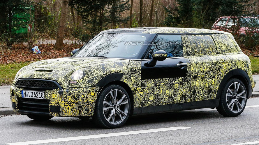 2015 MINI Clubman spied undergoing testing in Europe