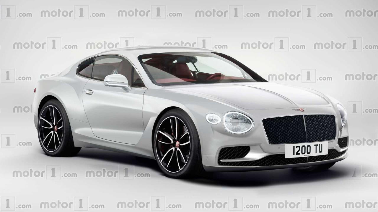 Bentley Continental GT 2017 render