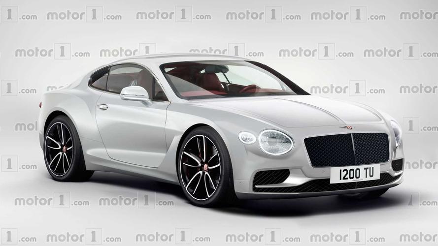 ¿Se parecerá el Bentley Continental GT 2017 a este render?