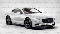 2018 Bentley Continental GT render