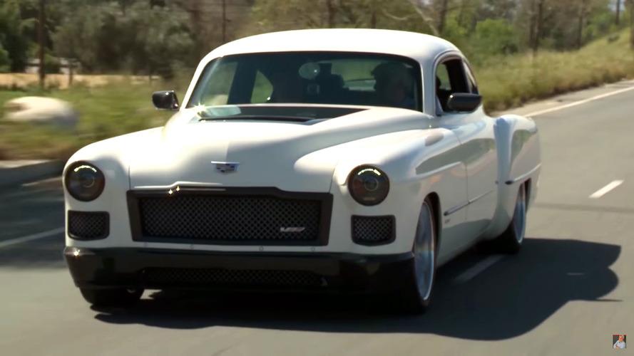 Jay Leno Welcomes Madam V 1948 Cadillac Coupe Restomod By Ringbrothers