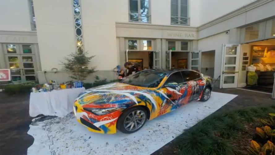 Alfa Romeo Giulia Art Car Adds Color To Your Garage For $99K