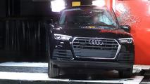Audi Q5 Euro NCAP test