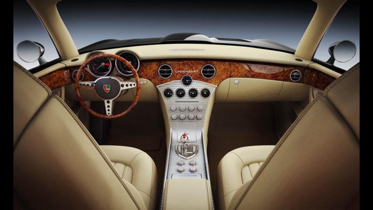 Esportivo: Lyonheart K revive o Jaguar E-Type