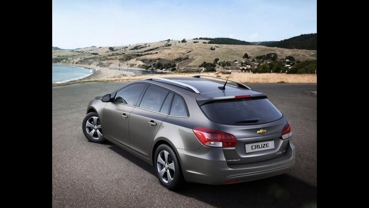 Oficial: Chevrolet revela o Cruze Station Wagon - Versão antecipa novidades e facelift do hatch e sedã