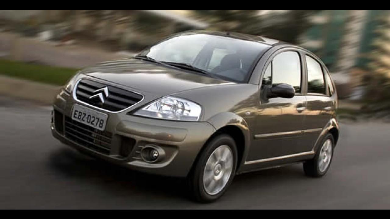 Citroën anuncia Recall do hatch C3 para verificação dos tambores dos freios