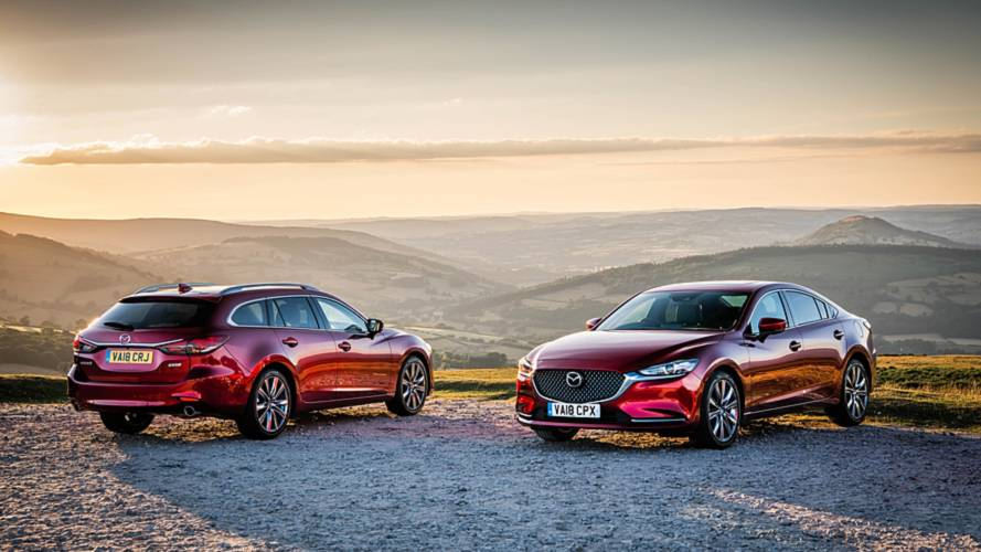 Mazda6 UK Pricing For Upgraded Saloon And Tourer Revealed