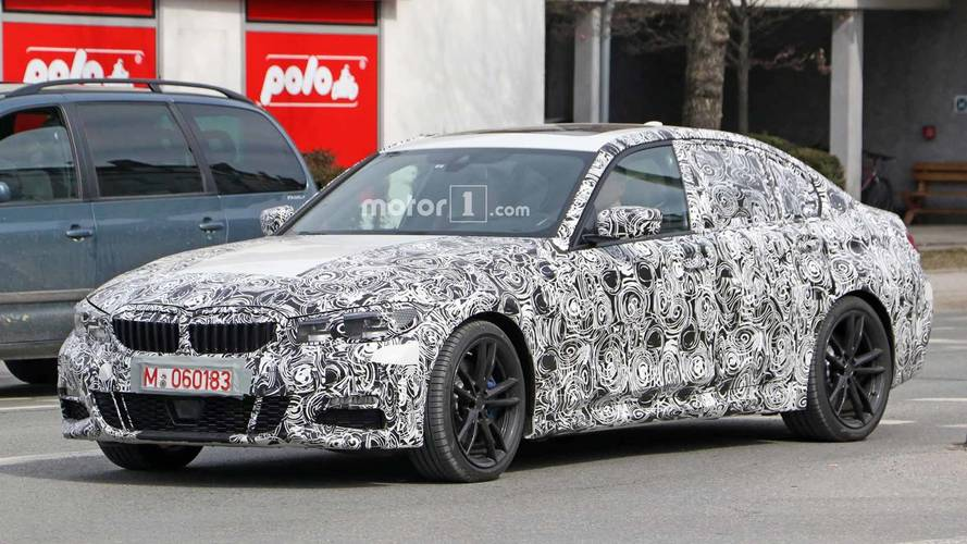 Next-Gen BMW 3 Series Spied Showing Off Its High-Tech Cabin
