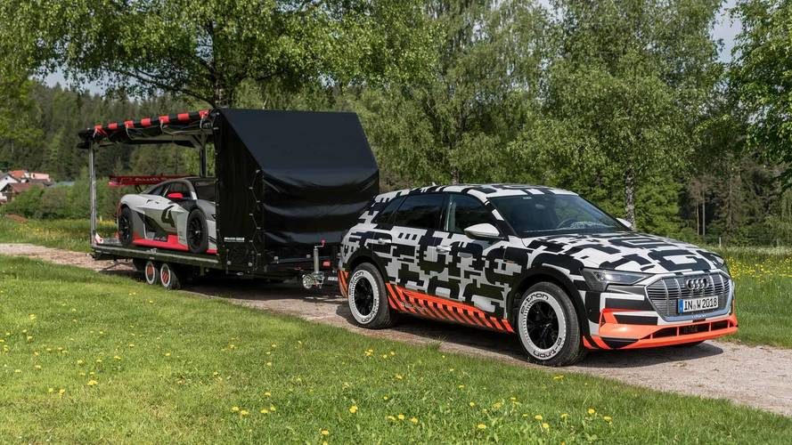 Audi E-Tron Prototype TowIng Vision Gran Turismo To Worthersee
