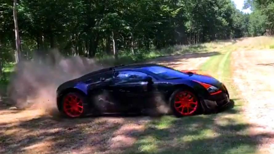 Bugatti Veyron Vitesse böyle kullanılır mı?