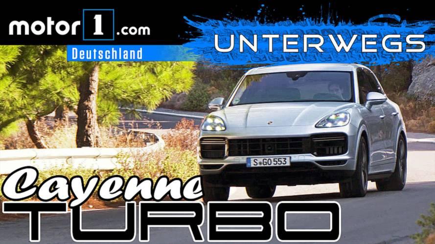 Fett wie ein Turnschuh: Porsche Cayenne Turbo | UNTERWEGS mit Daniel Hohmeyer