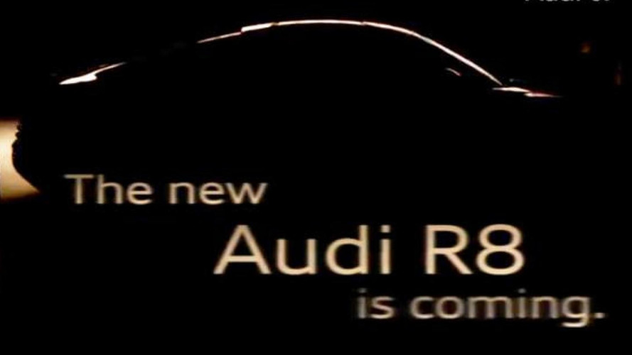 2013 Audi R8 facelift teased [video]