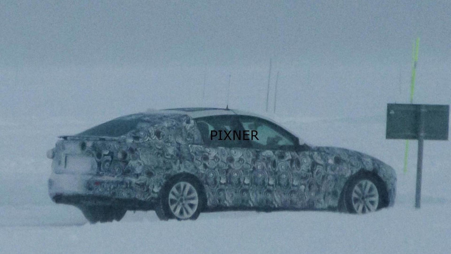 BMW 3-series GT spied with retractable rear wing