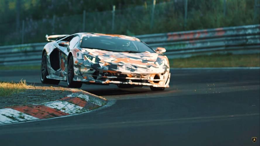 VIDÉO - Encore un teaser de la Lamborghini Aventador SVJ