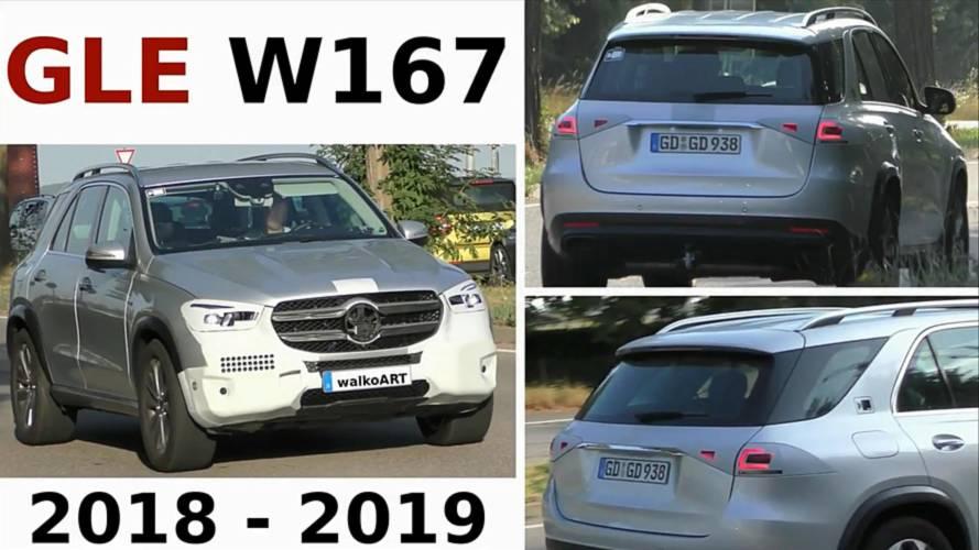 2019 Mercedes GLE neredeyse kamuflajsız yakalandı