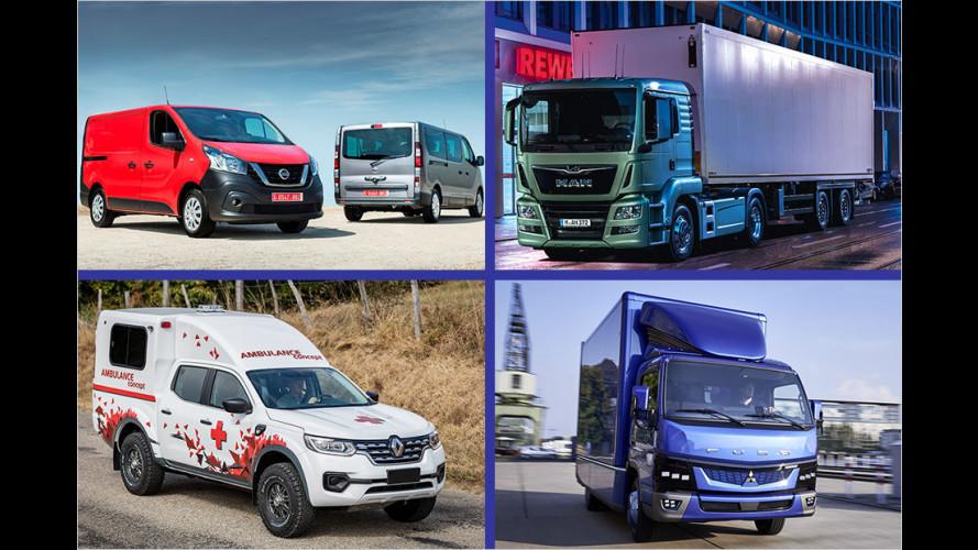 IAA Nutzfahrzeuge 2016: Die Neuheiten