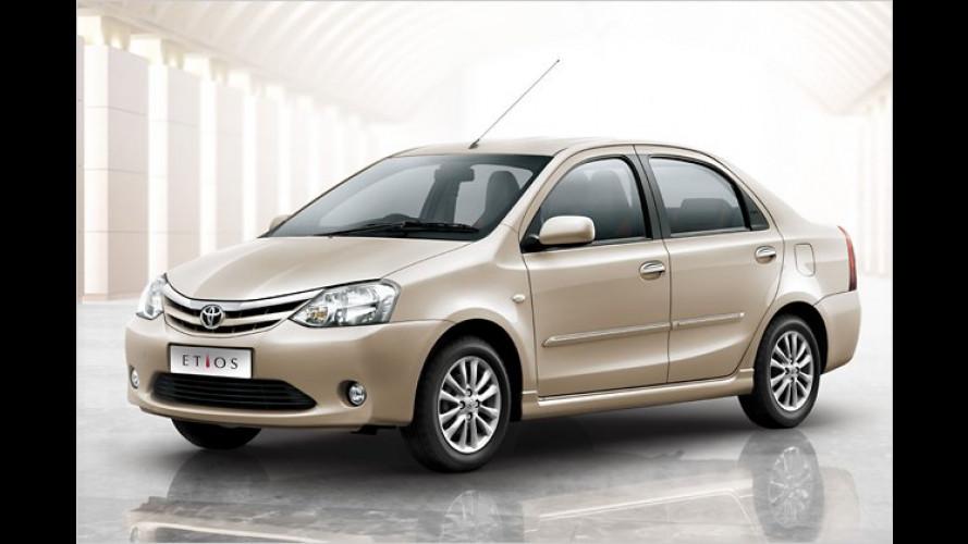 Toyota Etios: Indien macht mobil