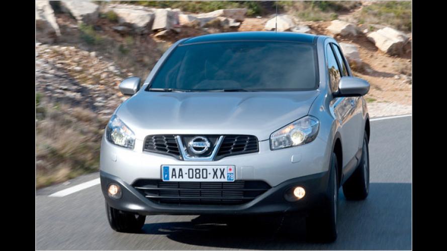 Kompakt und ein bisschen kernig: Nissan Qashqai im Test