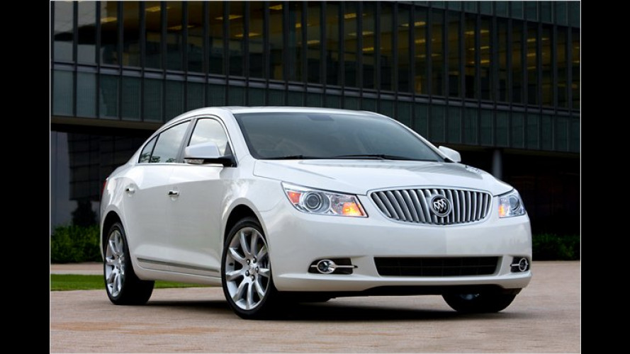Buick LaCrosse eAssist: Hybrid auf amerikanisch