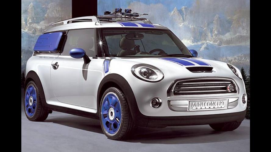 Mini-Kombi als Sport-Wagen: Detroit-Studie des Traveller