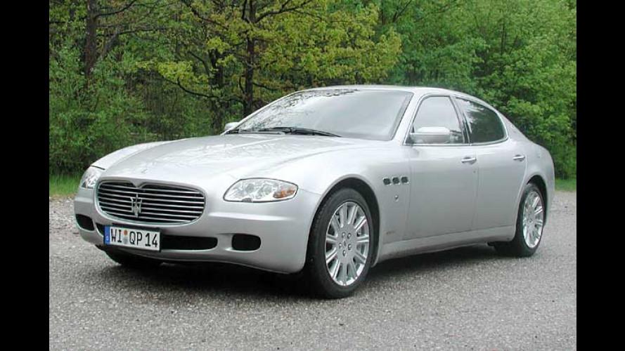 Maserati Quattroporte: Ein starkes Stück Italien