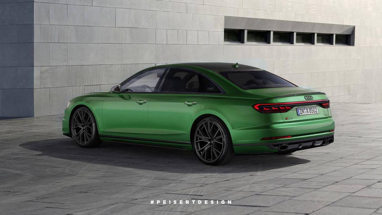 Audi RS8 Rendering