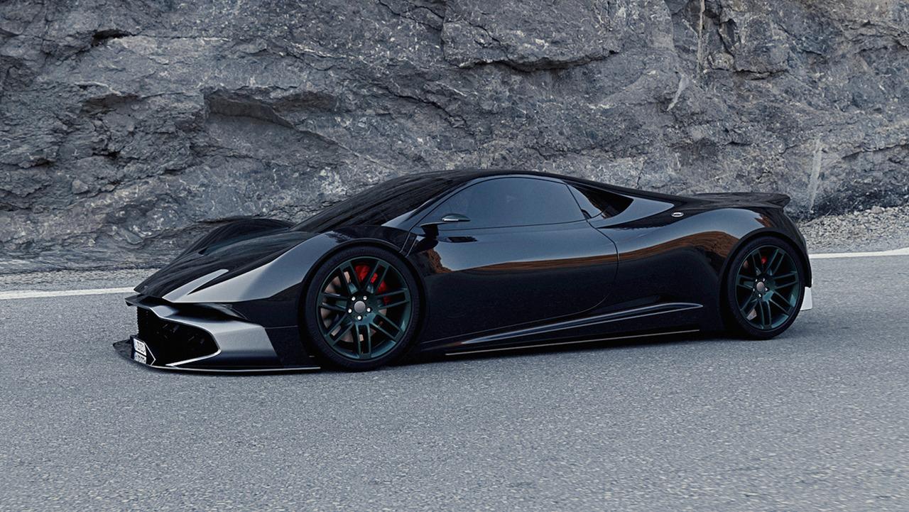 High Quality Aston Martin RR Concept