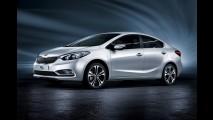 Kia mostrará novo Cerato e luxuoso Quoris no Salão do Automóvel em outubro