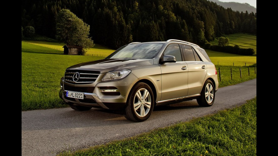 Mercedes-Benz apresenta novo ML 500 4Matic BlueEFFICIENCY na Europa