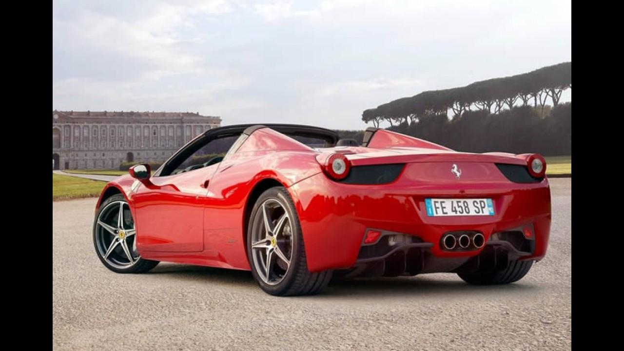 Salão do Automóvel: Fiat banca e garante presença de Ferrari 458 Spider e Maserati GranCabrio Sport