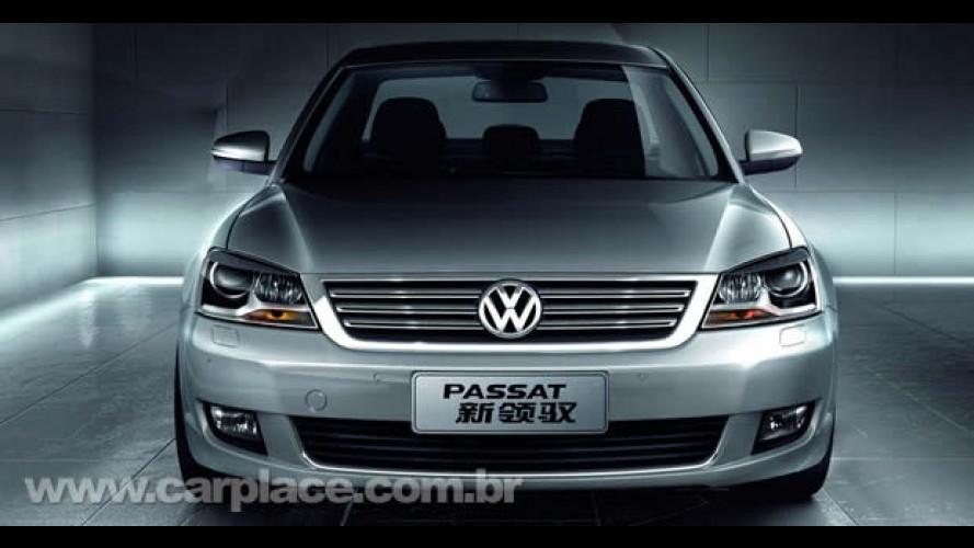 Volkswagen apresenta o Novo Passat Lingyu no Salão de Xangai com motores V6 e 1.8 turbo