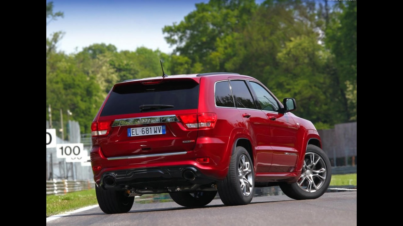 Galeria de Fotos: Jeep Grand Cherokee SRT8 2012