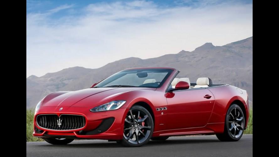 Maserati e Lamborghini suspendem vendas no Irã