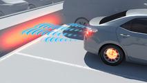 Toyota Intelligent Clearance Sonar