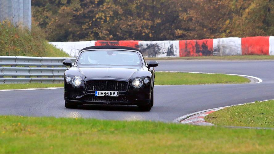 Bentley Continental GT ve GTC Nürburgring'de görüntülendi