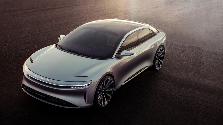 Lucid Motor - Air, la tueuse de Tesla en photos !