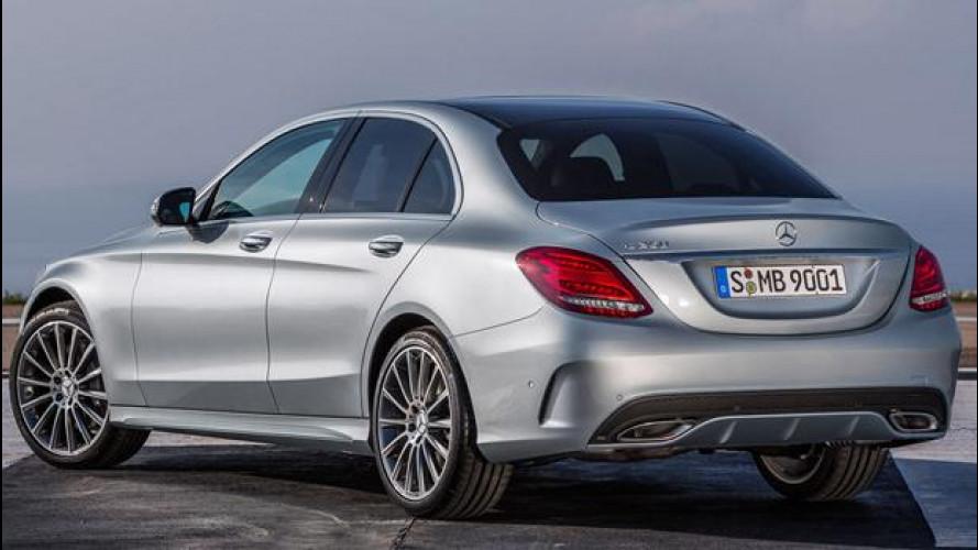 Nuova Mercedes Classe C, listino prezzi da 32.553 euro