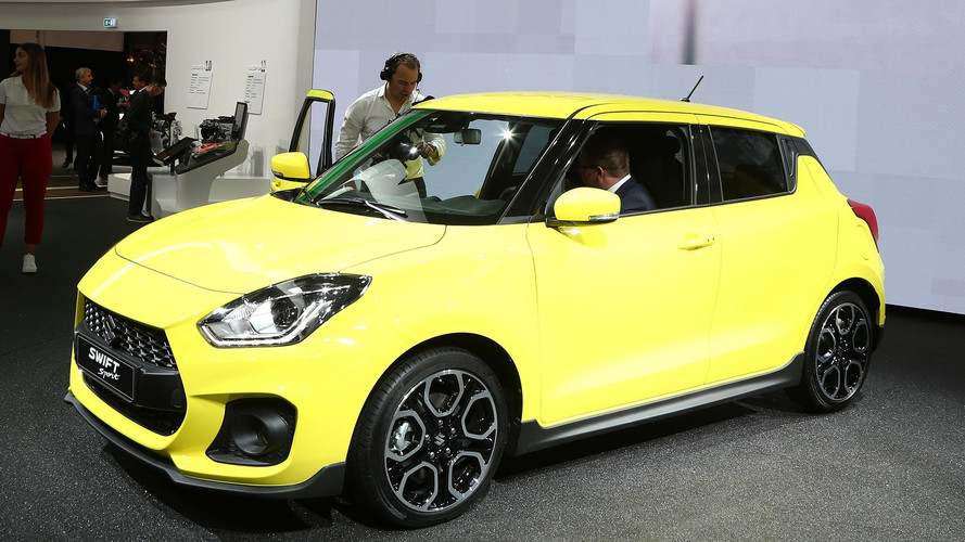 2018 Suzuki Swift Sport official images