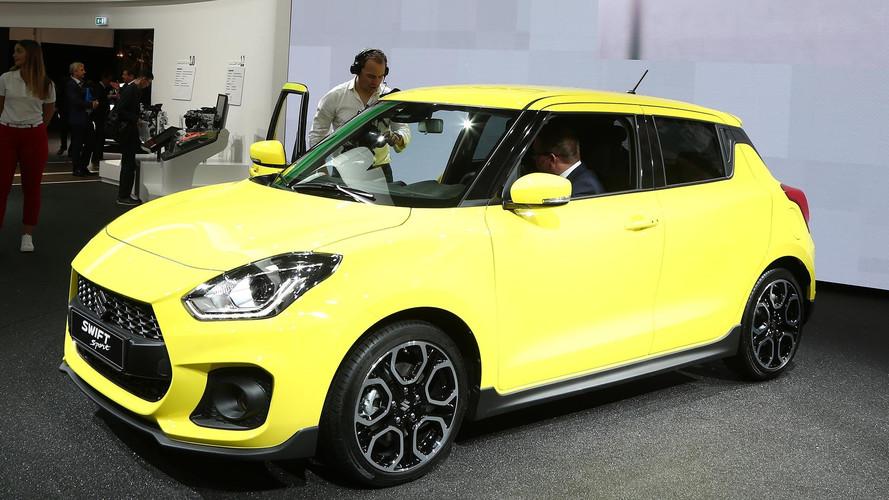 2018 Suzuki Swift Sport Adds Turbo, Removes Weight