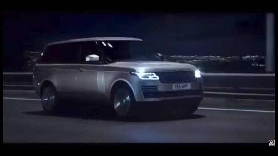 2018 Range Rover makyajı sızdırıldı