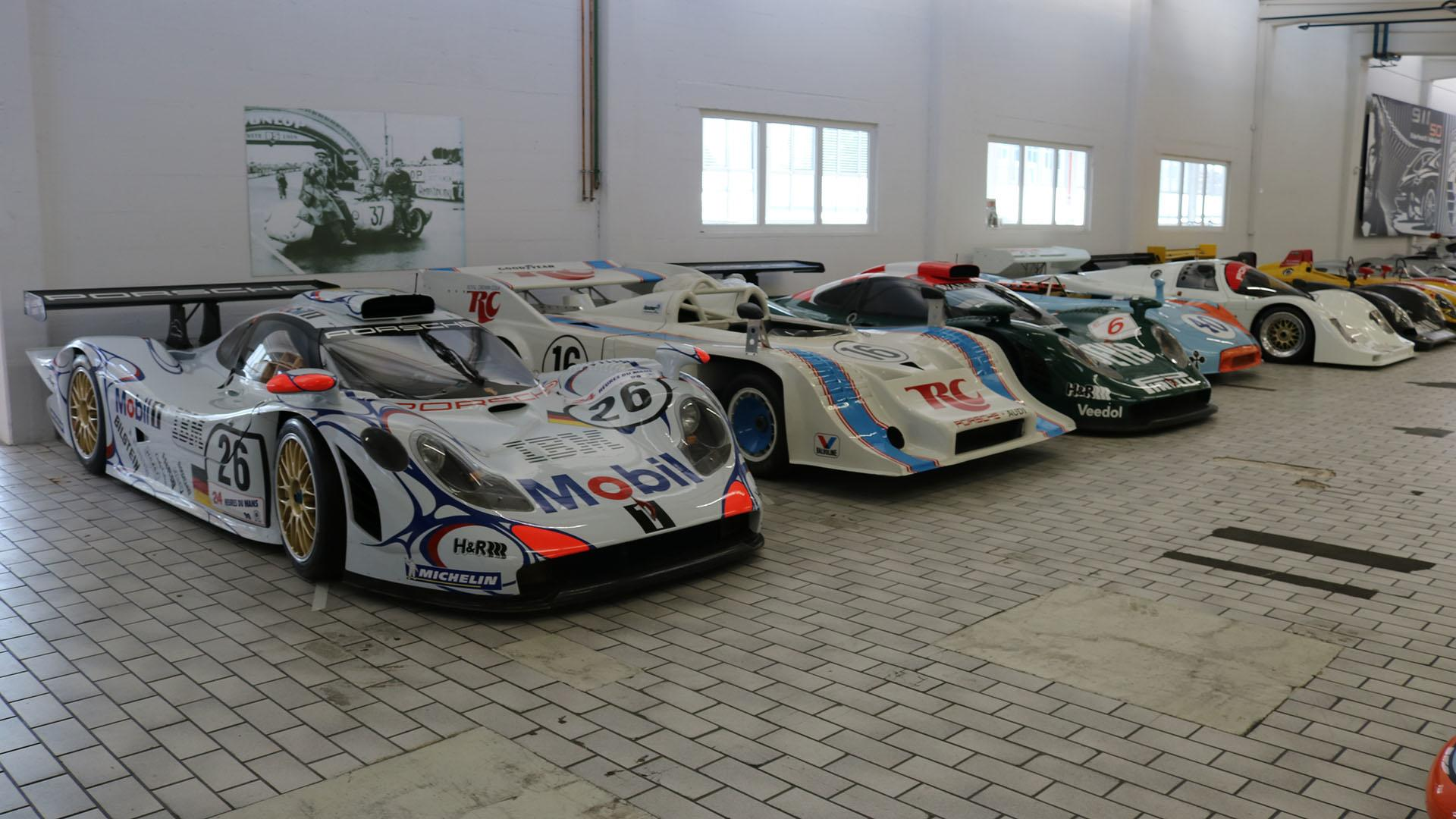 See The Porsche Museum\'s Off-Site Storage Facility In 93 Photos